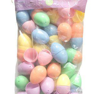 Spritz Plastic Easter Eggs 48pc Assorted Colors
